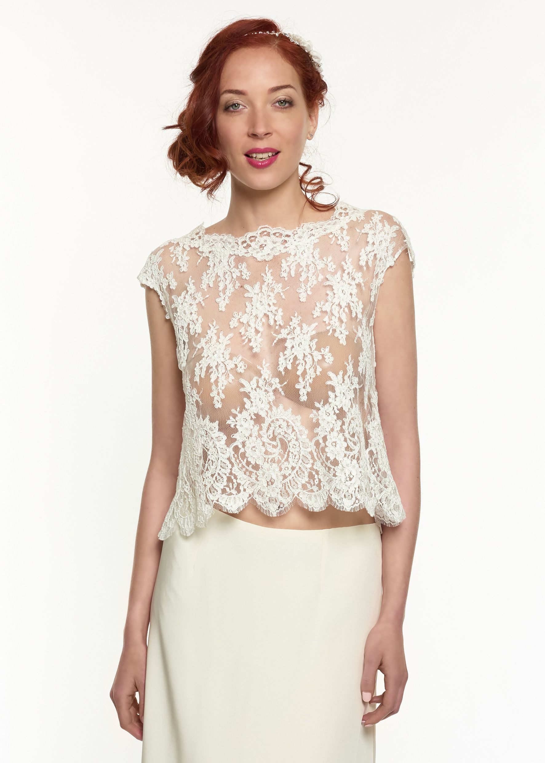 Bridal Jackets and boleros by Metal Flaque - Wedding dresses shop in ...