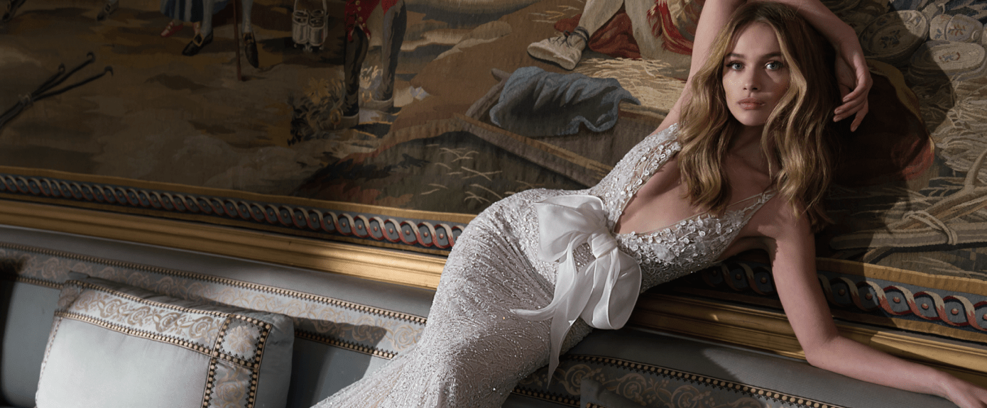 designer wedding dress inbal dror a paris france P 1