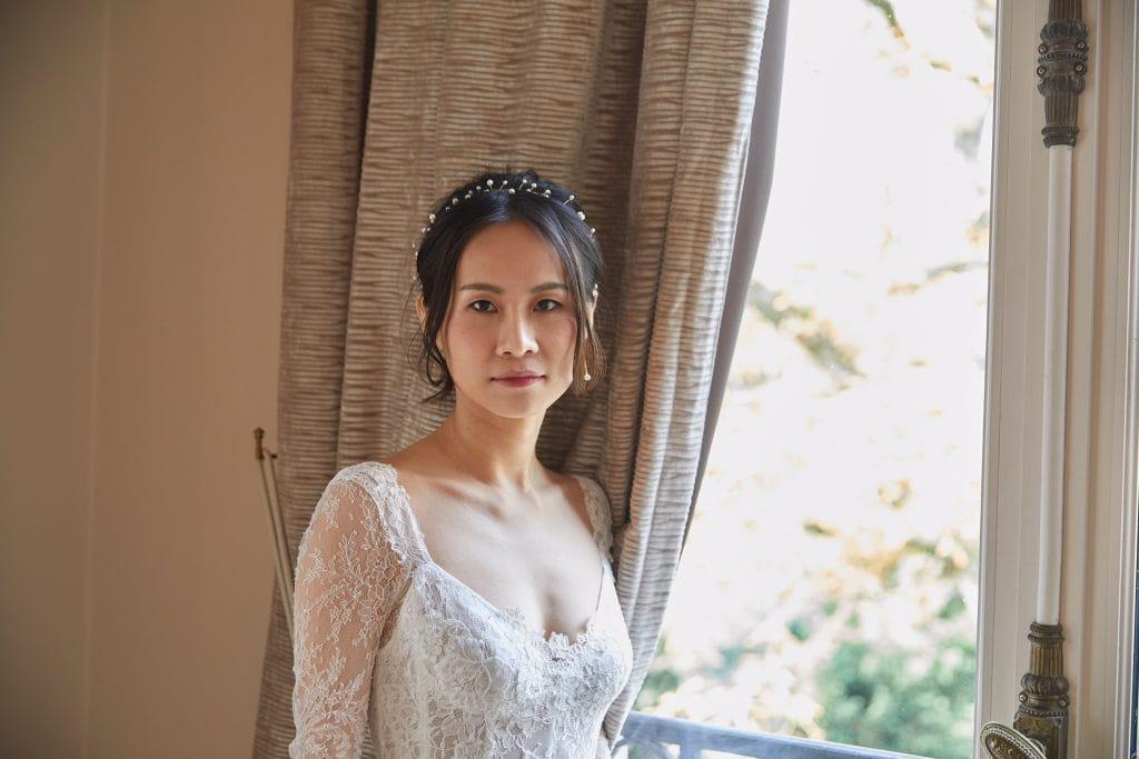 Photo de la mariée