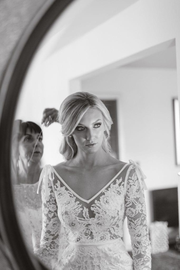 Photo of the bride