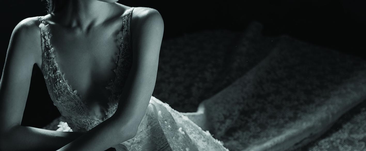 robe de mariee pure by inbal dror paris P