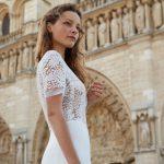 mira mandic designer wedding dress at metal flaque in paris france