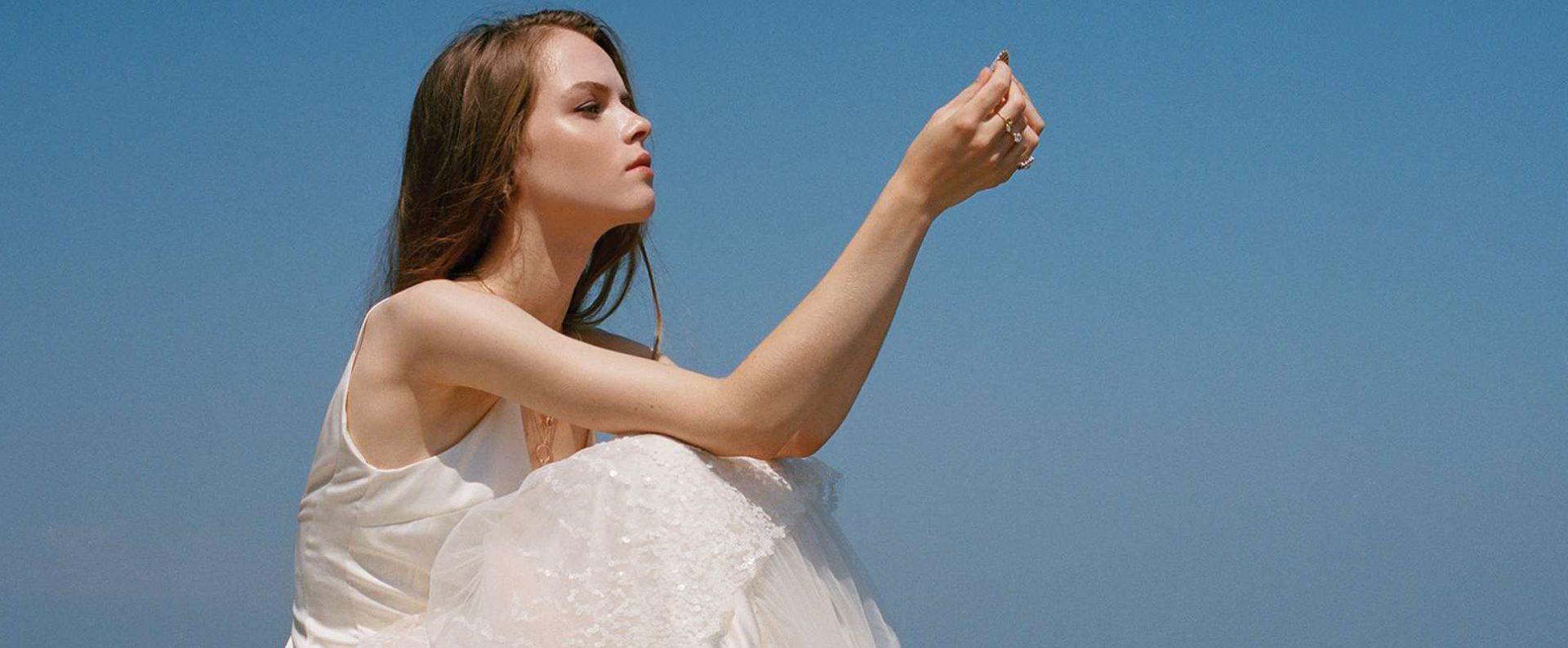 designer wedding dress savannah miller paris france P
