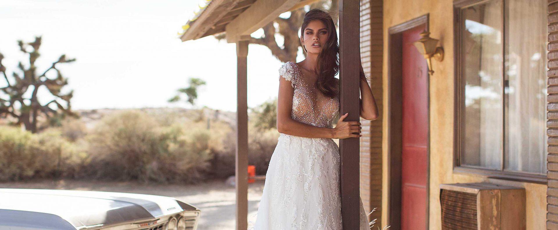 designer wedding dress milla nova paris france P