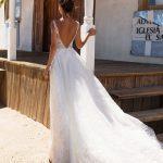 milla nova designer wedding dress at metal flaque in paris france