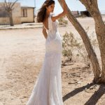 robe de mariee createur milla nova chez metal flaque a paris