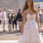 berta designer wedding dress at metal flaque in paris france