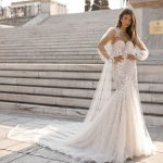 berta designer wedding dress at metal flaque in paris france