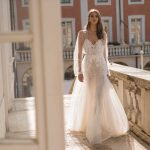 berta privee designer wedding dress at metal flaque in paris france