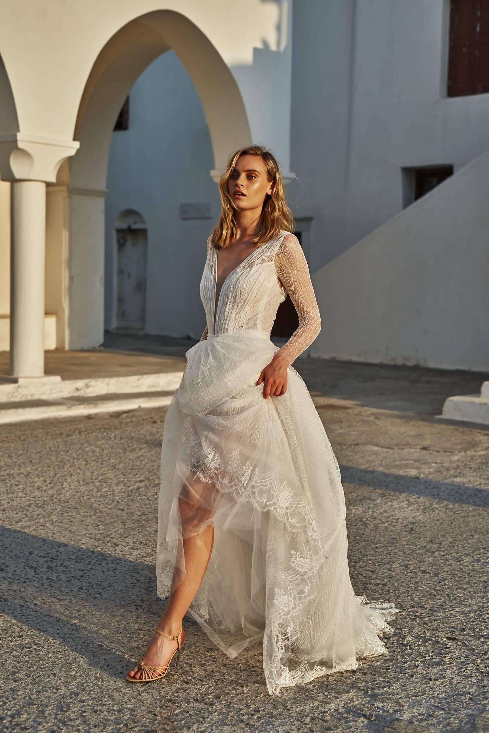 Robe de mariée Sylwia Kopczynska à Paris