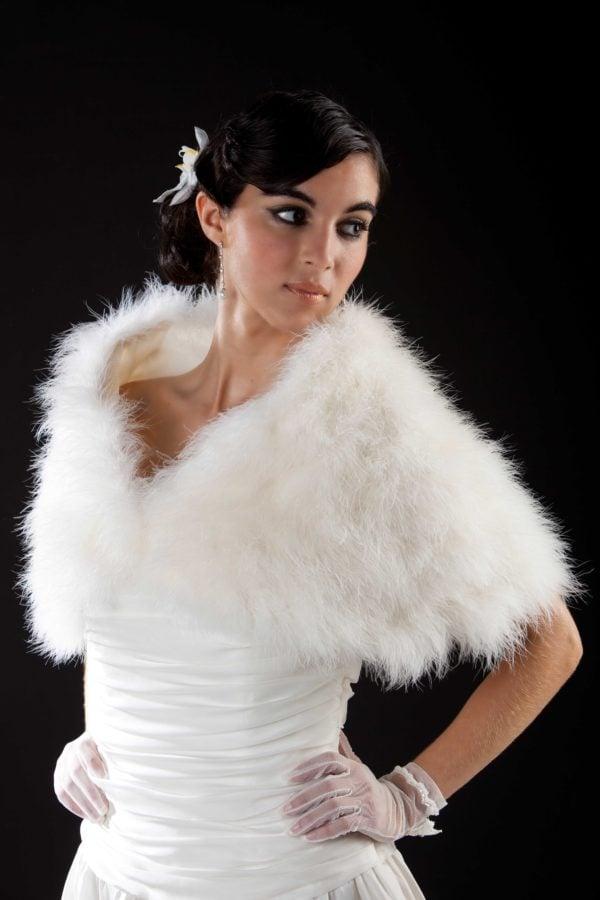 accessoire-mariee-cape-plumes-marabout-chaude