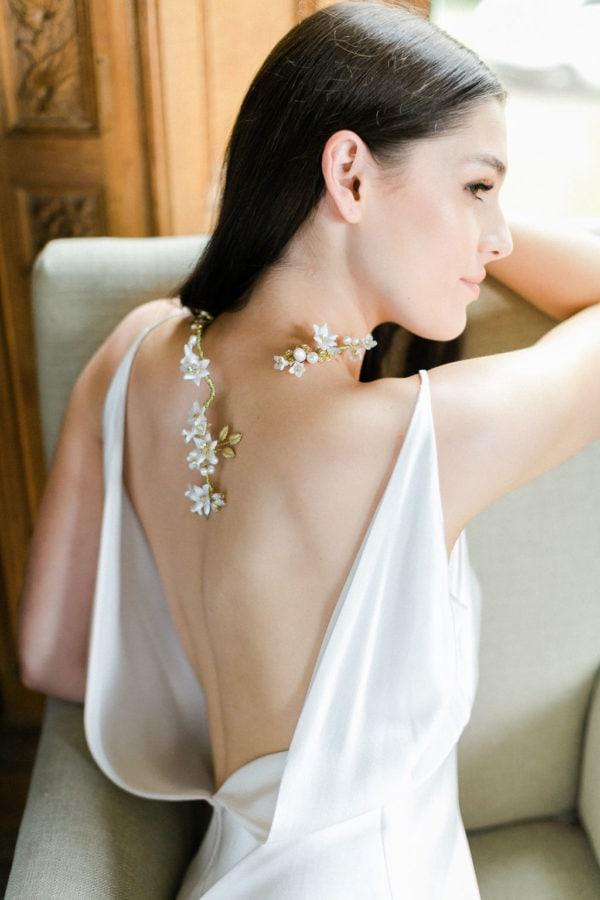 bijoux-collier-or-fleurs-perles